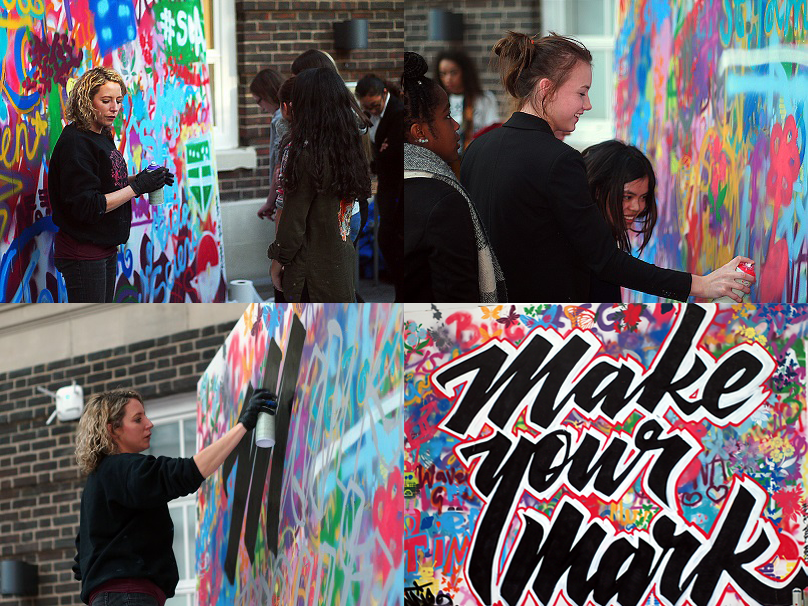 Graffiti Mosaic